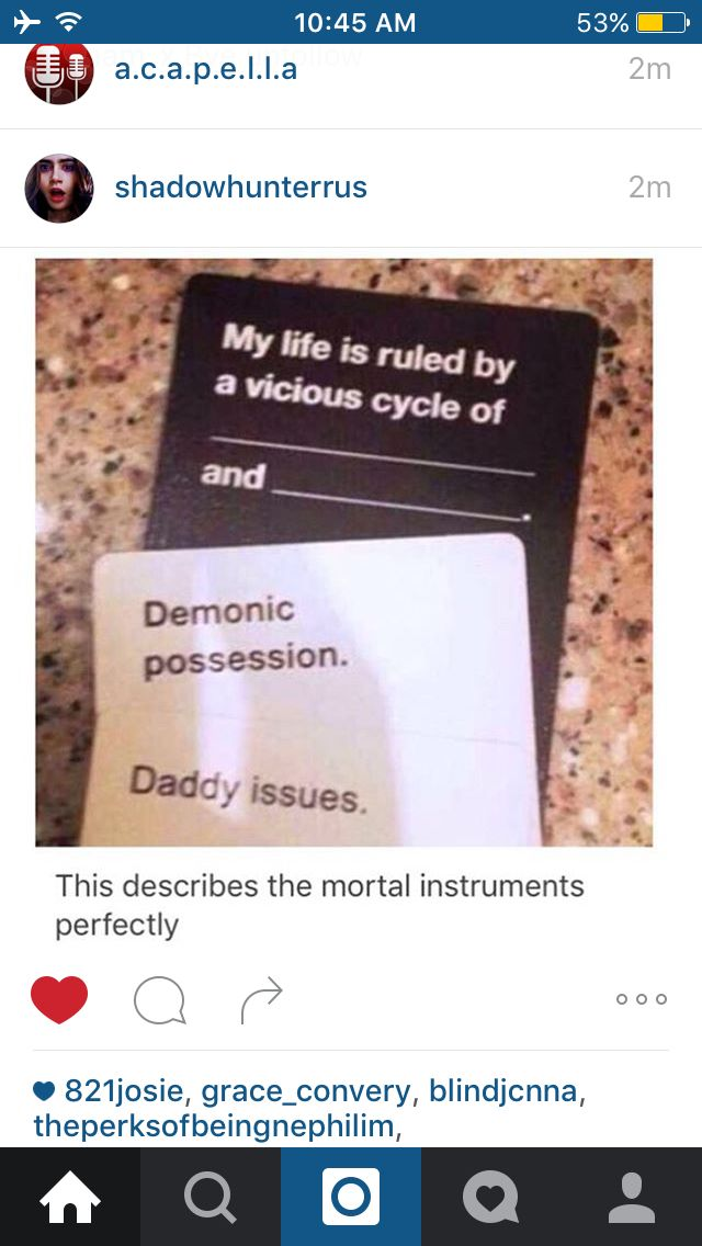 Mortal Instruments>> More fitting is Supernatural>>> Both