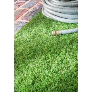 nuLOOM Artificial Grass Outdoor Lawn Turf Green Patio Rug (6'7 x 9') - Free Shipping Today - Overstock.com - 19042049 - Mobile