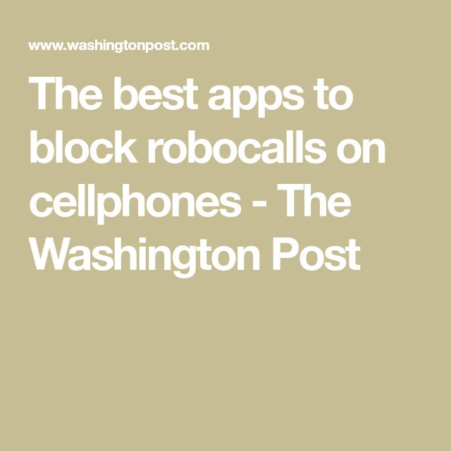 Die, robocalls, die A howto guide to stop spammers and
