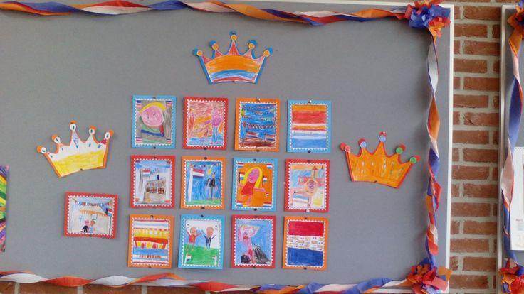 Postzegels voor koningsdag