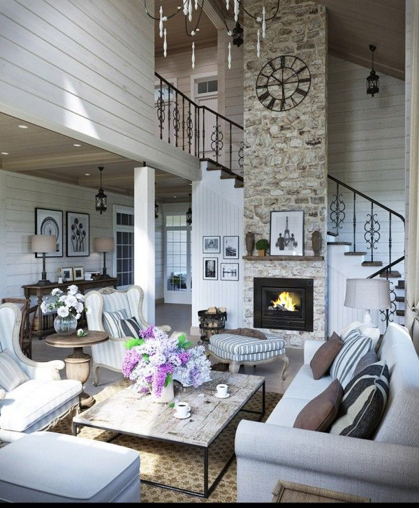 2provencestyleapartmentdesignswithfloorplans - Modern French Living Room Decor Ideas 2