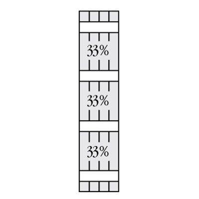 Perfect Shutters 6.875W in. Closed Board-N-Batten Vinyl Shutters Heritage Green - 1360745331C003, PERF098-815