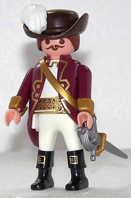 MUSKETIER BRAUN GOLD Playmobil zu D´Artagnan + die 3 Musketiere König Garde 1493