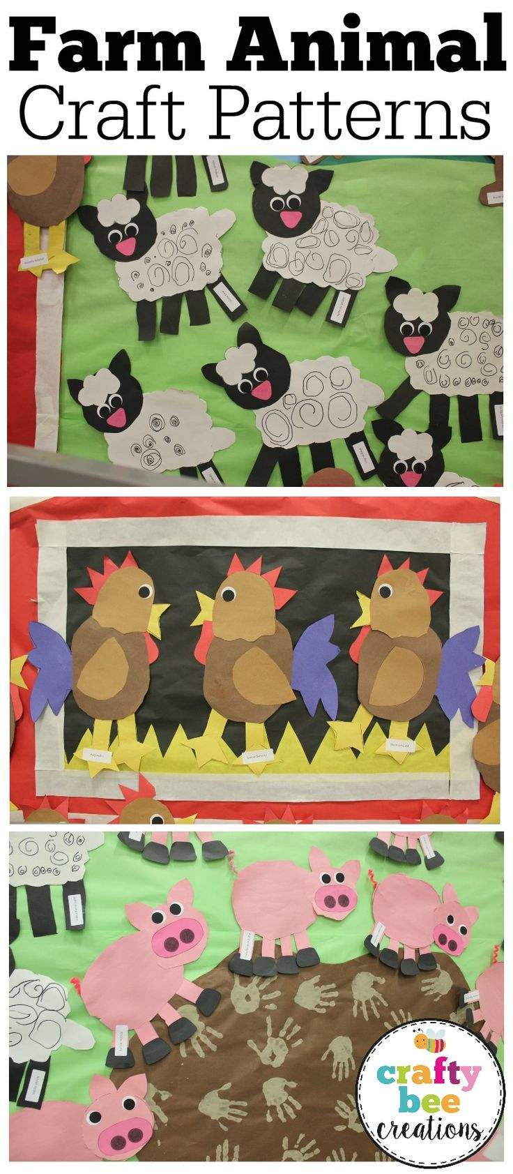 Take a look at this amazing End of the Year Preschool Ceremony that is decorated like a farm! These farm animal patterns are perfect for preschool and kindergartners. They are easy patterns that kids will have so much fun working on! Plus a Rooster Craft Freebie!