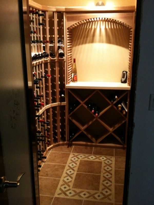 12 best small wine cellars images on pinterest cellar for Wine rooms in homes