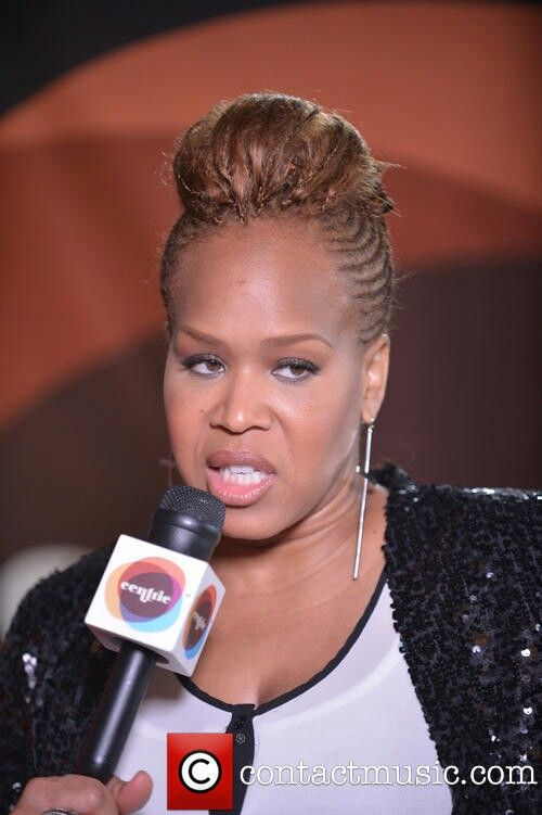 Tina Campbell of Mary Mary braided Mohawk hairstyle ...