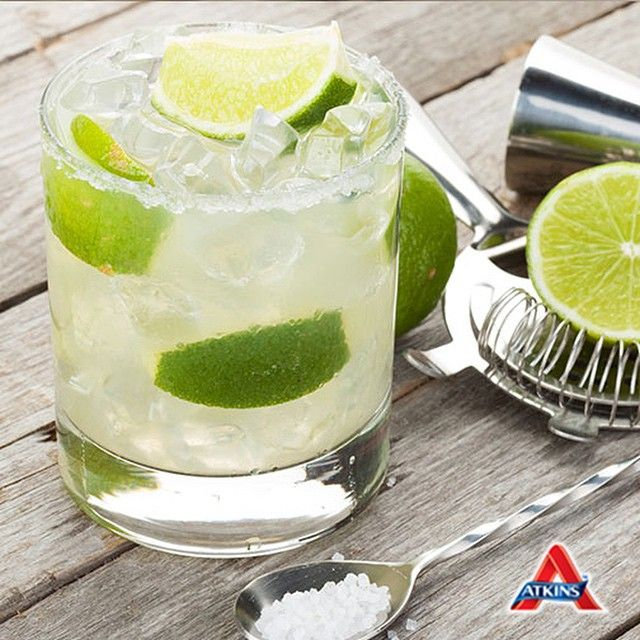 Plan your weekend now and throw in this recipe for #LowCarb margaritas! Guilt free and just as fun - click on the link in our bio for the recipe! #Margaritas #Weightloss #Atkins