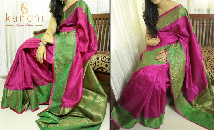 Code : KSC 004 Pink banaras mutka silk saree.. To place an order whtzap at : +91 8089813556 www.mykanchi.com