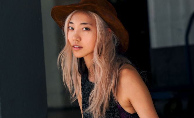 """Being Asian American ourselves, we very much understand what works and what doesn't on Asian hair,"" says Shen. That said, if you want to go blond, aim for a platinum or creamy beige color. ""In general, Asians have more yellow undertones, so having any yellow or orange in the hair really clashes with the skin tone. Try platinum, a soft buttery beige, or even a hint of peach, which will complement the skin."""