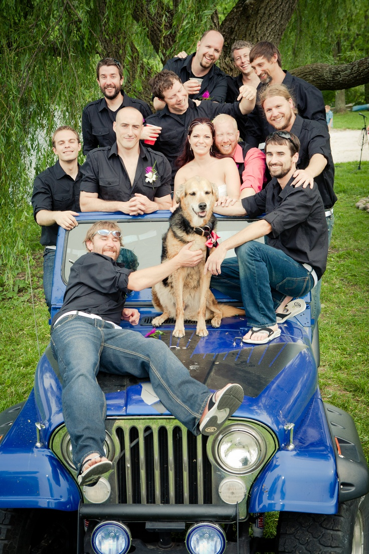 78+ images about Jeep Theme Wedding Ideas on Pinterest