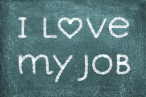 Career affirmation: I love my job