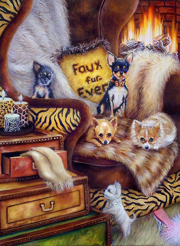 Mignonnes illustrations serie K ( Brooke Faulder)