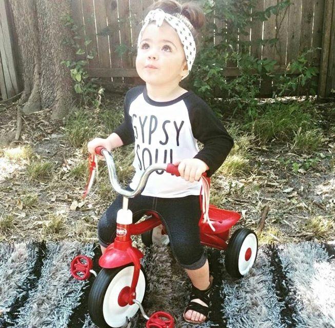 Gypsy Soul Baby, Toddler, & Kids Boy OR Girl, Gender Neutral T Shirt, Baseball Sleeves, Raglan Tee, Baby Shower Gift, Liv & Co. - Liv & Co.