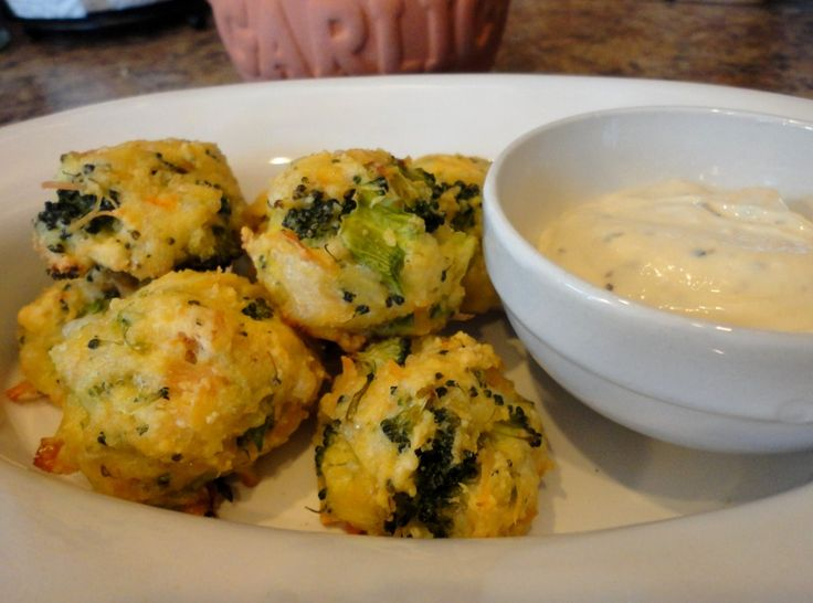 Chicken and Broccoli Fritters Shared on http://www.facebook.com/LowCarbZen/