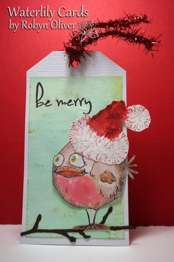 Waterlily Cards............by Robyn: Twelve Tags of Christmas