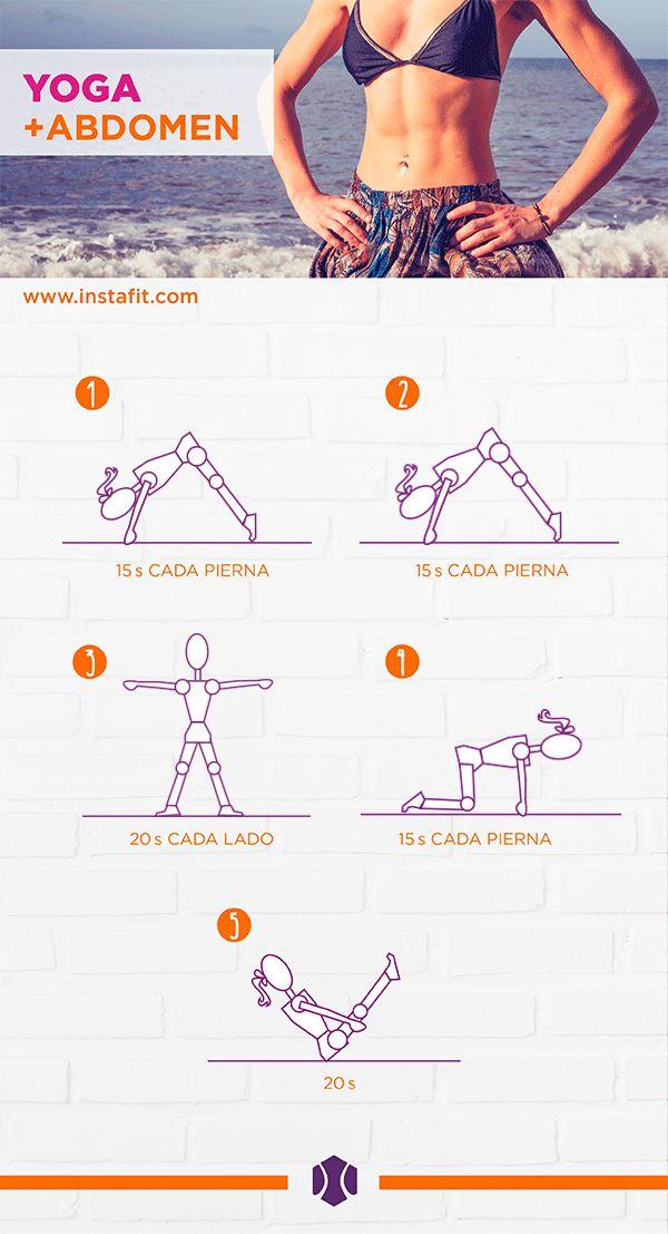 Rutina: yoga+abdomen
