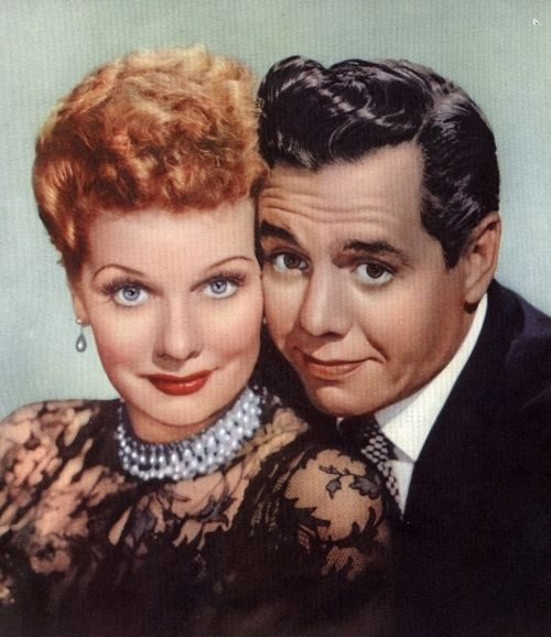 I Love Lucy - Lucille Ball and Desi Arnaz