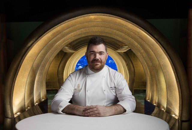 My interview with British seafood chef Nathan Outlaw as he preps to open his first restaurant outside the UK, in Dubai, at Burj Al Arab. #michelin #nathanoutlaw #burjalarab