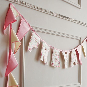 i may just be biased since it says freya, but these banners are so cute. especially the mr. and mrs. one.