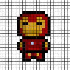 pixel art avengers