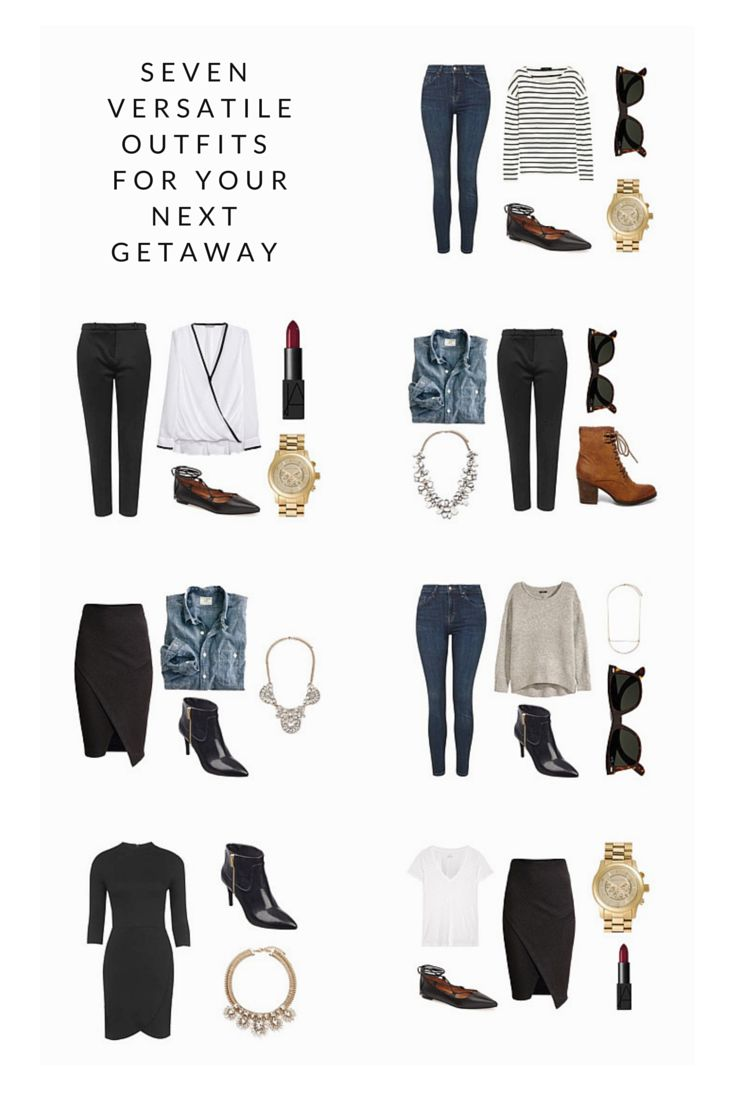 With trips scheduled for every month this year I was thrilled about adding new pieces to my wardrobe. Here are several pieces making 7 versatile outfits.