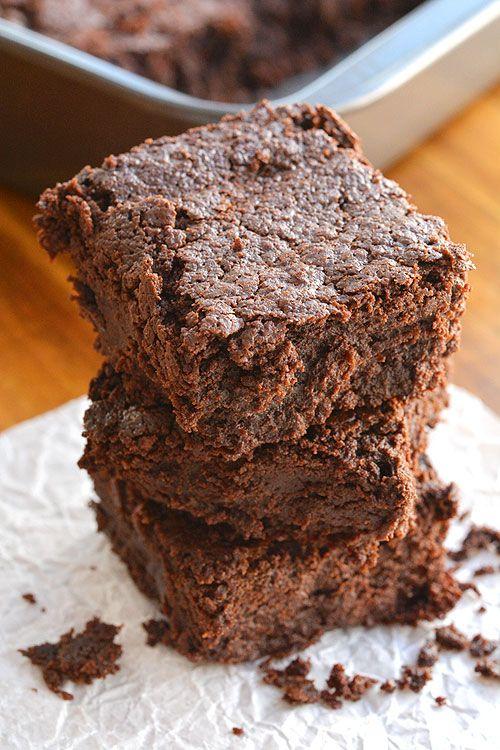 Brownies   Recette sans farine Brownies sans produits laitiers et sans gluten libres