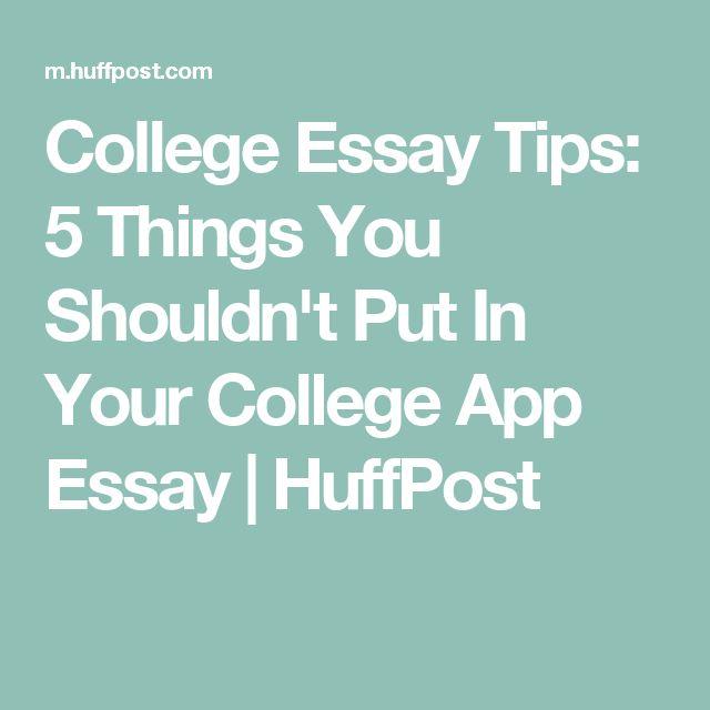 best 25 college essay tips ideas on homework