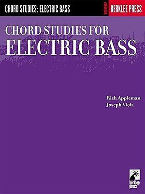 USED (LN) Chord Studies for Electric Bass: Guitar Technique (Workshop (Berklee P