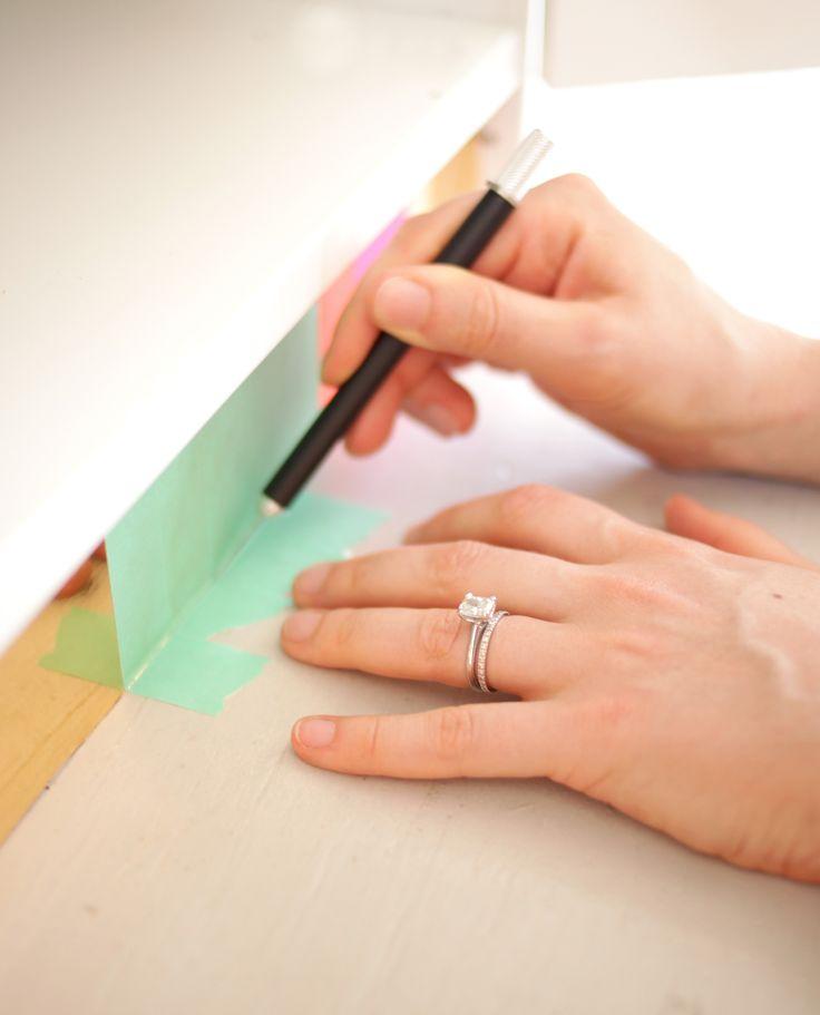 Colorful Toekick DIY With Joy Cho | theglitterguide.com
