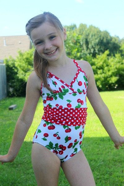 Sizes 616 All 4 One Stylish Swimsuit PDF sewing by ColesCreations, $9.95