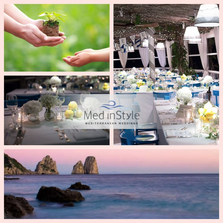 Choose an #environmentally #friendly and #green #ceremony. Discover how powerfull we are as human beings and how simple is to make a #change.  find more: http://www.wedinstyle.it/…/wedding/eco-friendly-wedding.html  #love #nature #wedding