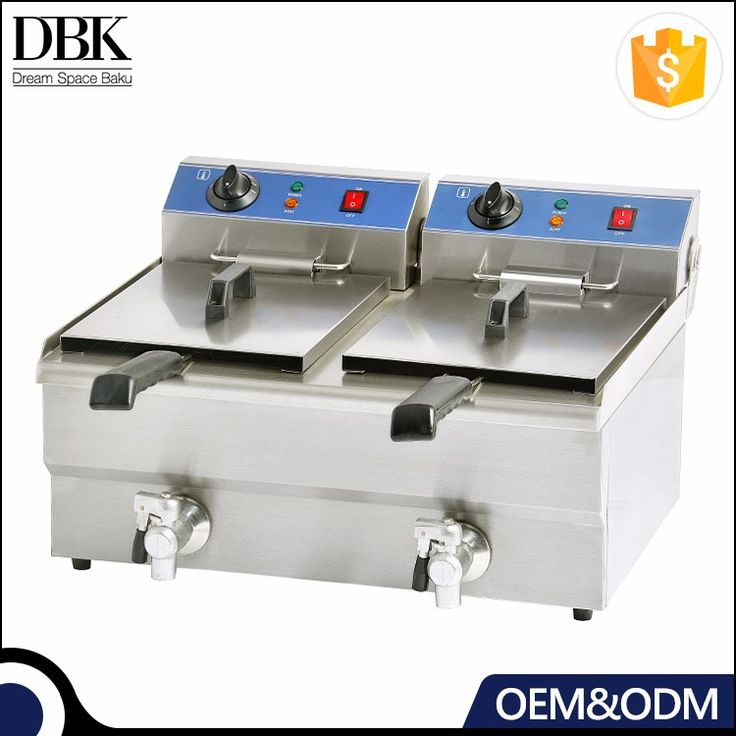 One Year Warranty Stainless steel 220V/380V Industrial Deep Electric Fryer