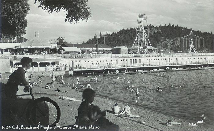 playland pier park coeur d alene id the good ole days