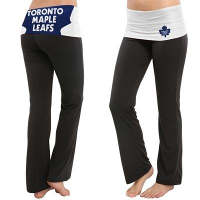 For my Yoga practice Women's Toronto Maple Leafs Black Sublime Knit Lounge Pants