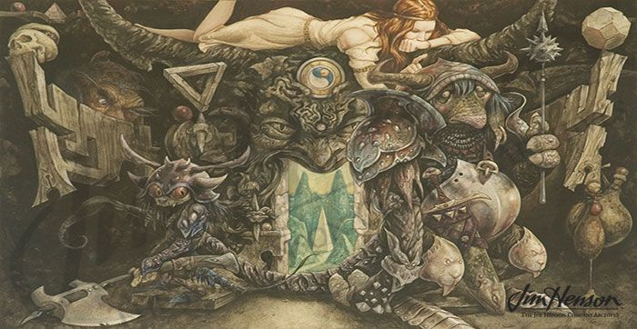 Brian Froud's concept art featuring Taya and the Goblins for ...