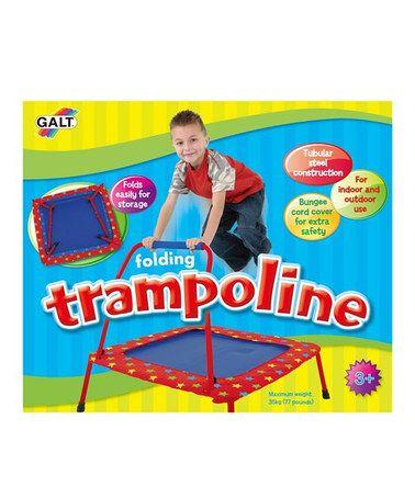 Look at this #zulilyfind! Folding Trampoline by Galt Toys #zulilyfinds.  For my little jumper!