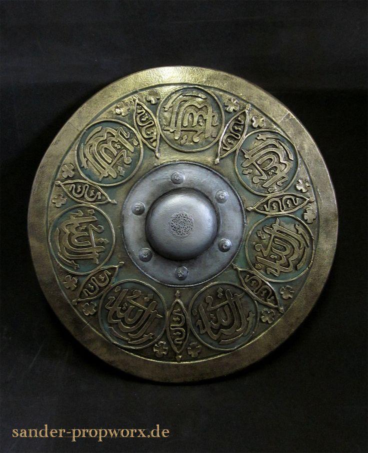 Oriental larp shield by BloodworxSander