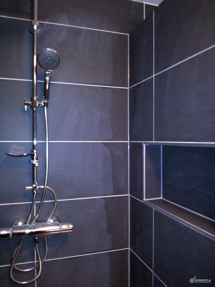 Muurtje in douch google zoeken badkamer toilet pinterest in and search - Betegelde douche ...