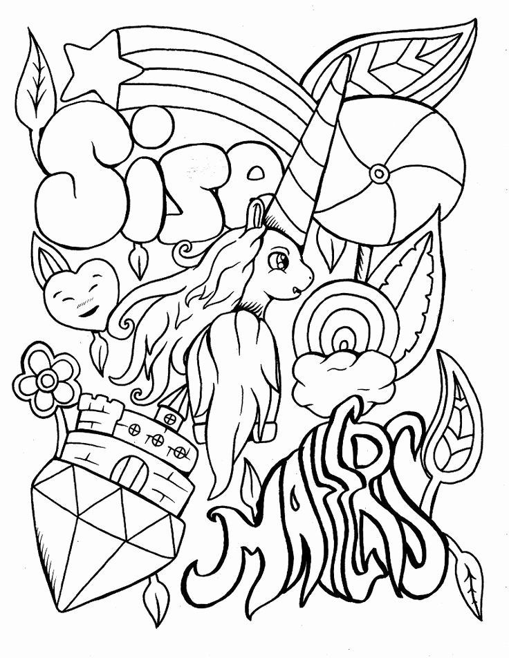 Cuss Word Adult Coloring Book Fresh Adult Coloring Books Did You Know This Was A Thing Neog In 2020 Unicorn Coloring Pages Curse Word Coloring Book Words Coloring Book