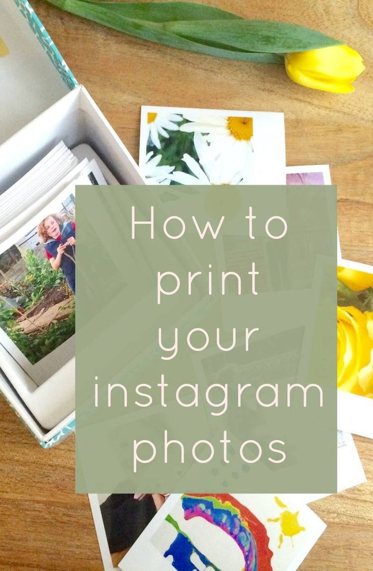 How to print your instagram photos - I love instagram and often wished I could have in my hands my lovely collection of photos on there. I love how these turned out and aI have photo strips too!