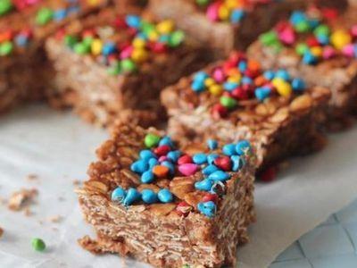 No-Bake Nutella Bars recipe