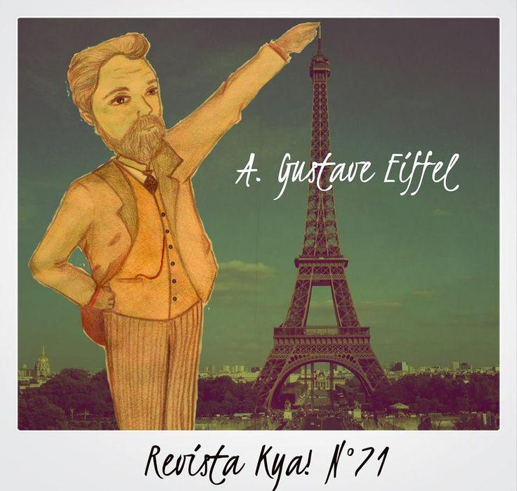 Alexandre Gustave Eiffel de Melody Elizabeth Primavo
