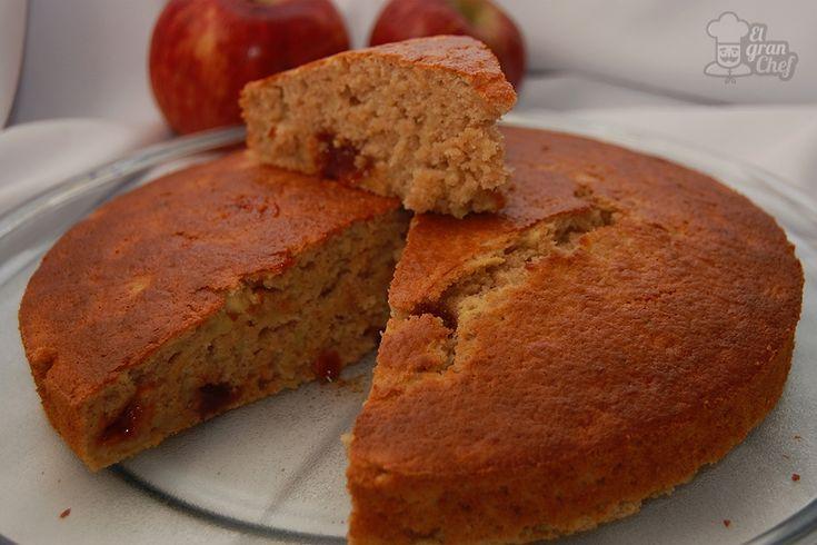 Simple y rápida torta de manzana
