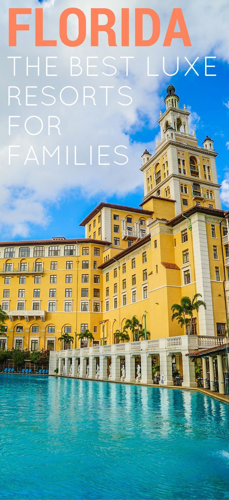 We've reviewed some of the best luxury resorts for families in Palm Beach, the Florida Keys, Miami, Orlando, and Naples for your next family vacation.