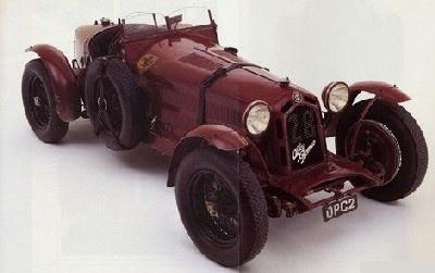 1931 Alfa Romeo 8C 2300 Spider Mille Miglia