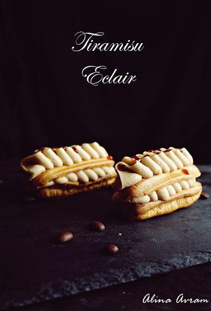 Tiramisu Eclair | Alina Avram's Blog