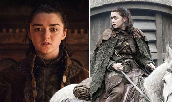 Game Of Thrones Season 8 Spoilers Arya Stark Star Spills On