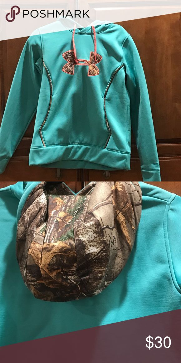 Under Armour women's hoodie Teal green woman's hoodie. Under Armour Tops Sweatshirts & Hoodies