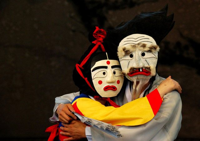 Korean Mask   当前位置: 首页 > > 假面舞剧Korean mask dance