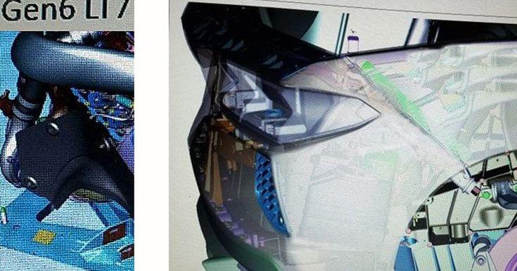 GM Confirms That Leaked C8 Corvette CAD Images Are Real #Corvette #GM